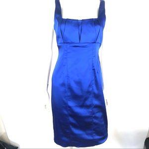 Calvin Klein 4 Sapphire Blue Cocktail Party Dress